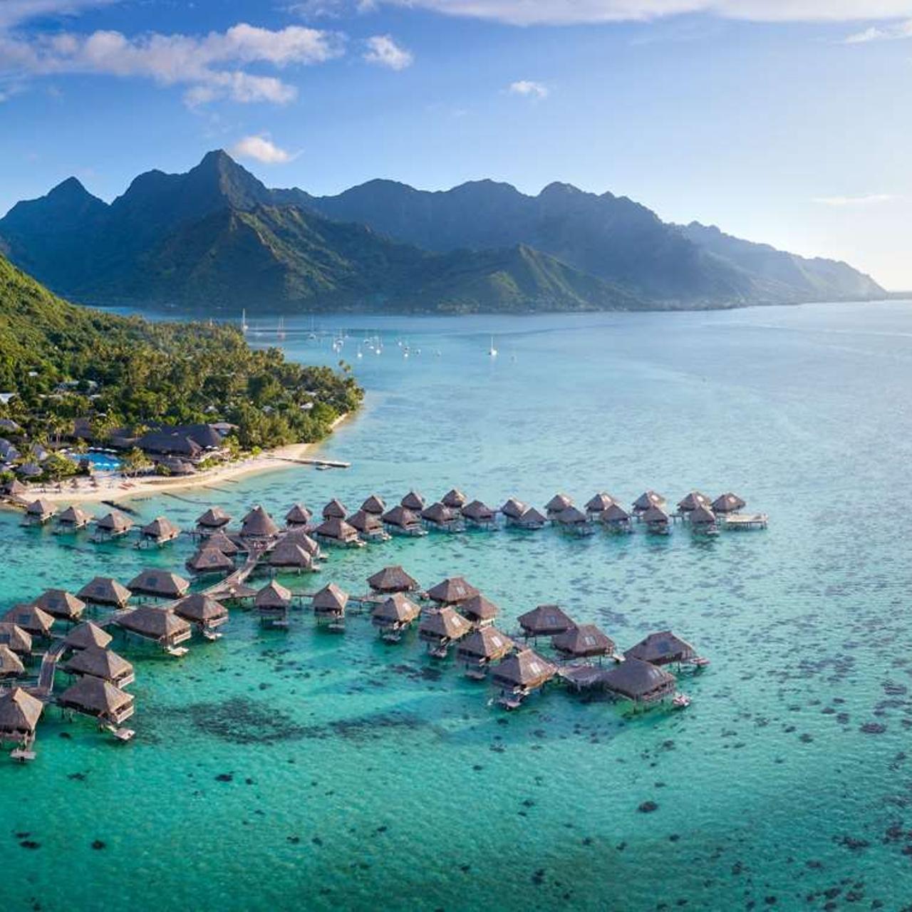 Südsee: 5* Hilton Moorea Lagoon Resort & Spa - 5 Nächte King Garten-Bungalow mit privatem Pool & div. Extras / gratis Storno / bis Mai 2022