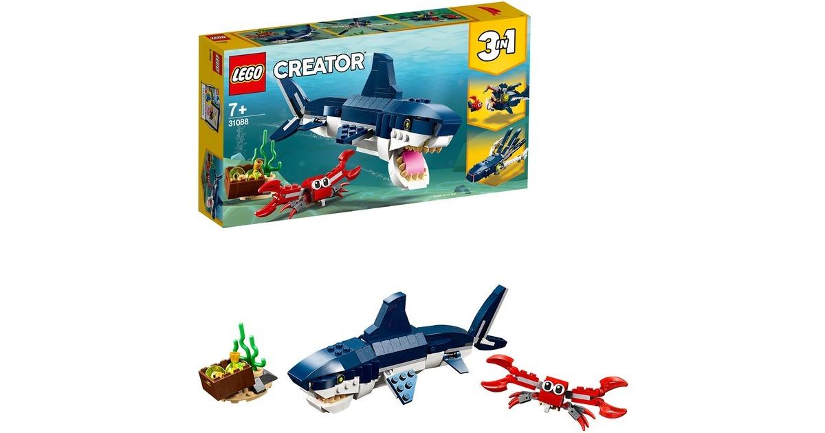 3x LEGO 31088 Creator Bewohner der Tiefsee bei Alternate
