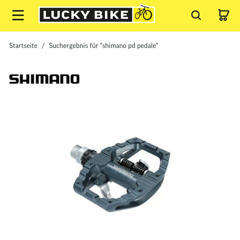 Shimano PD-EH 500 mit Newsletter Gutschein (bei Abholung 39,99€)