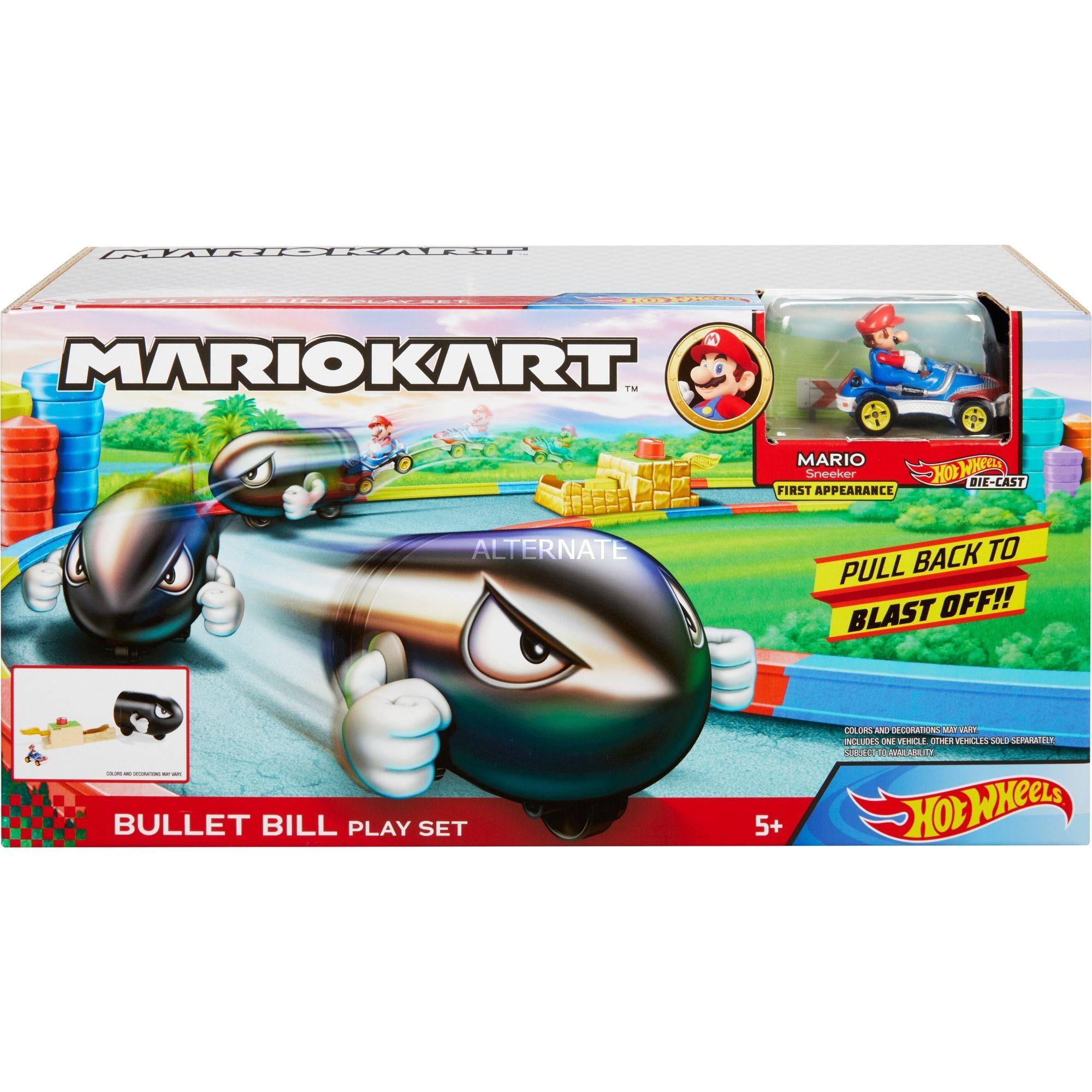 """[Alternate] Hot Wheels Mario Kart """"Kugelwilli"""" Spielset, inkl. 1 Fahrzeug und weitere"""