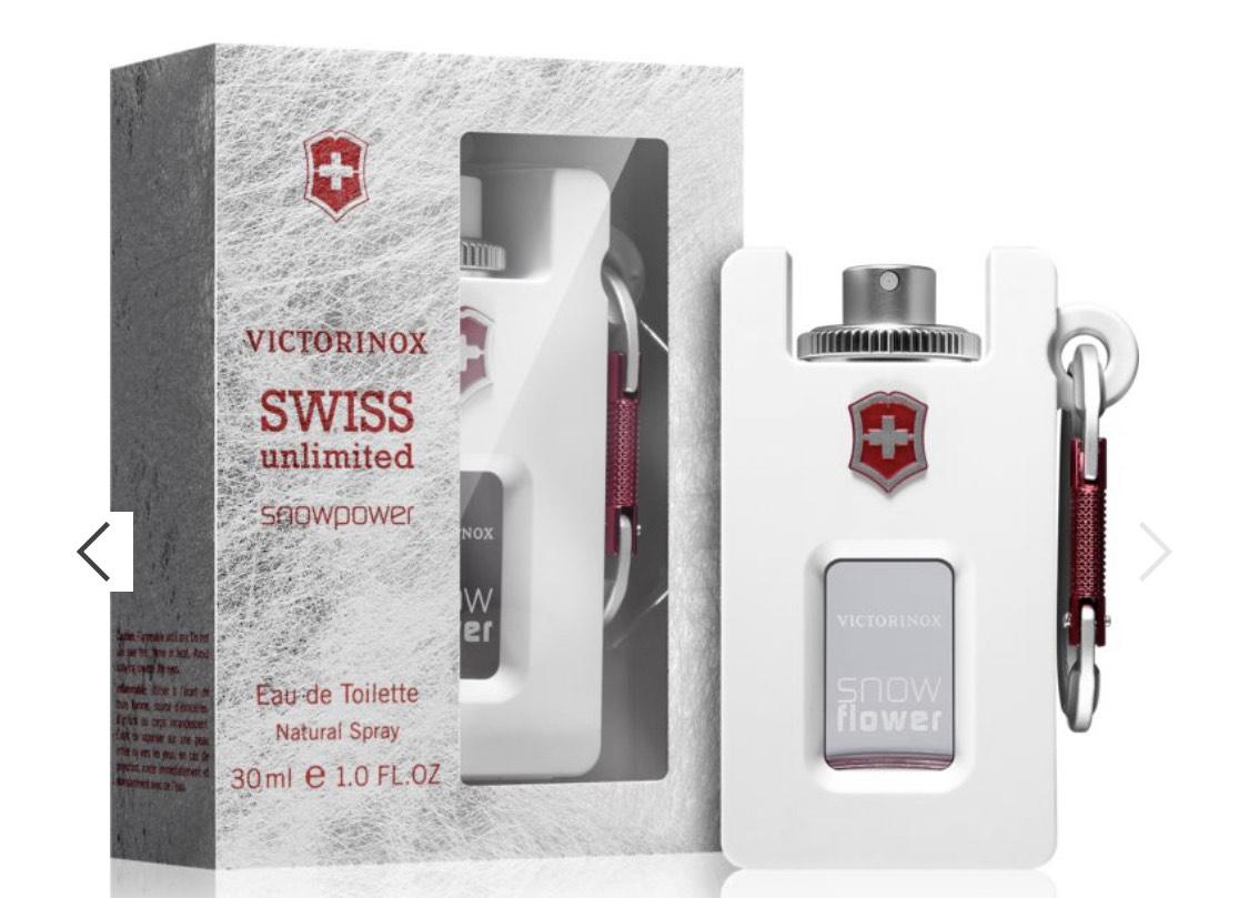 Eau de Toilette Victorinox Swiss Unlimited Snowflower / EdT für Damen