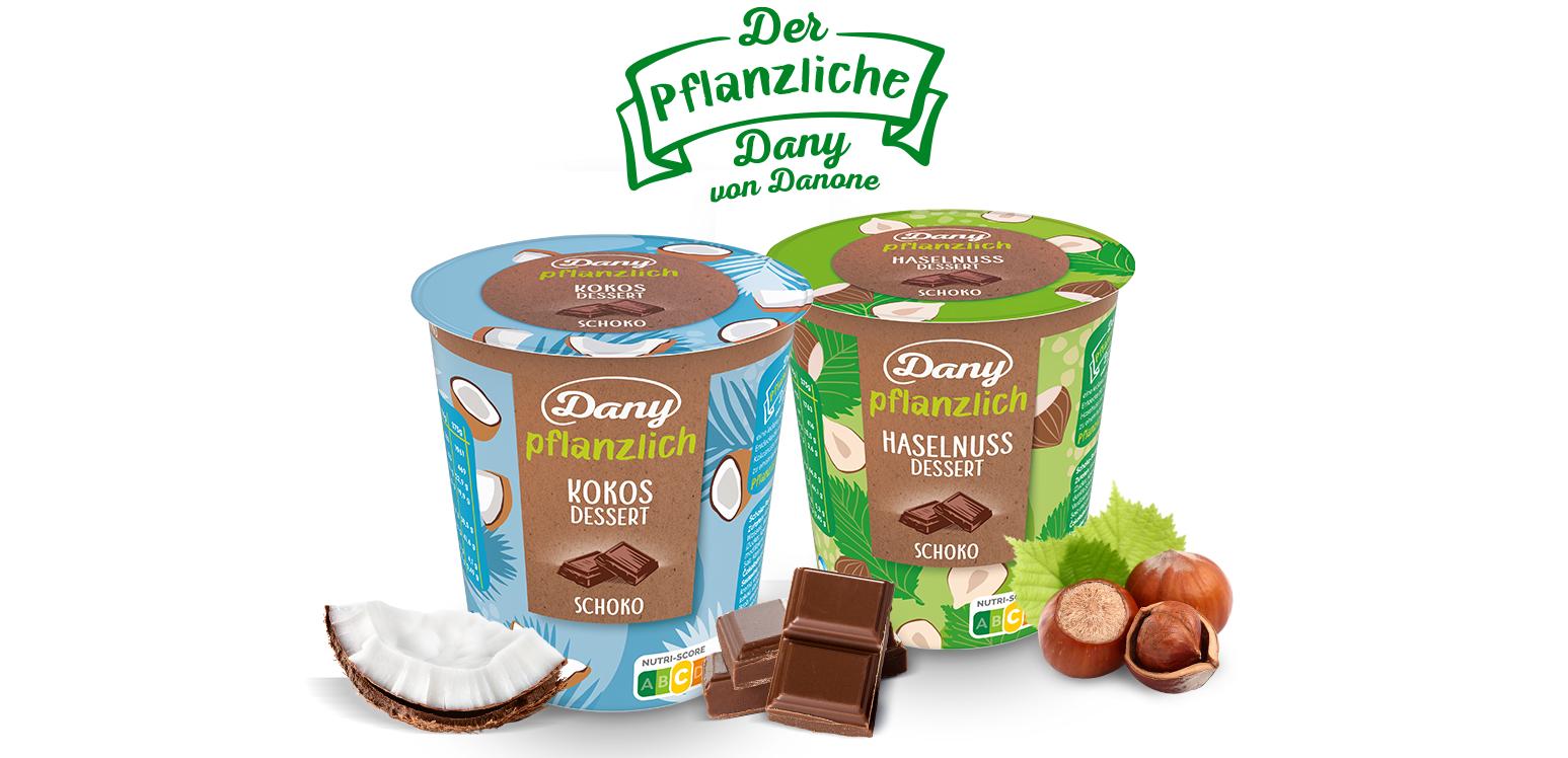 [Rewe & Coupies] Danone Dany pflanzlich je 375g Becher für effektiv nur 0,49€ statt 1,99€ | Veganer Pudding