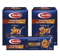 [Rewe] Barilla Pasta Nudeln verschiedene Sorten, auch Vollkorn - Integrale, für nur 0,77€