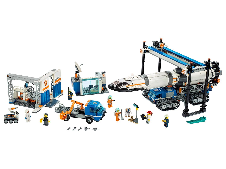 LEGO City - 60229 Raketenmontage & Transport (Lego.com)