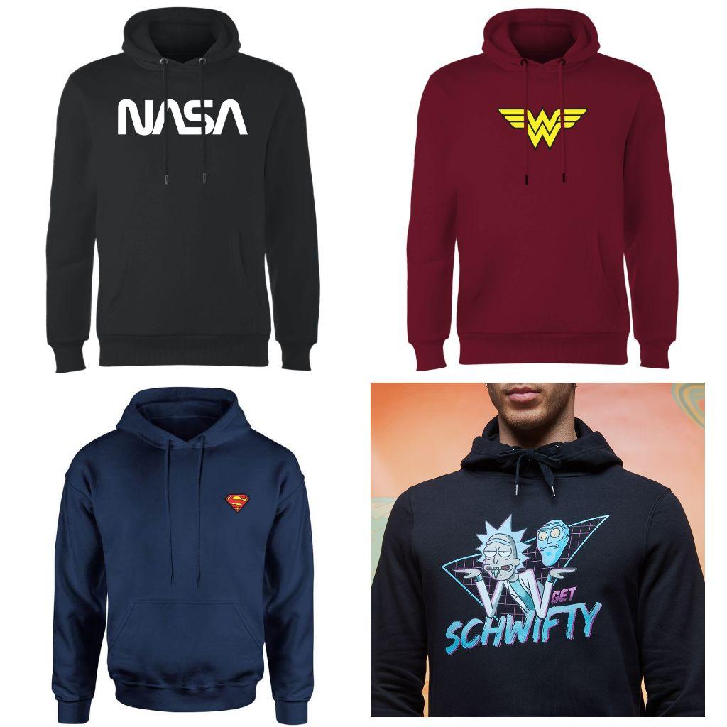 Loungewear Multi Kauf - 2 Hoodies, Sweatshirts oder -pants für 32€ / 673 Artikel z.B. NASA, Marvel, DC, Harry Potter, Nintendo und mehr