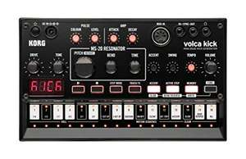 Korg Volca Kick, analoger Kick und Bass Synthesizer [Musikinstrumente]