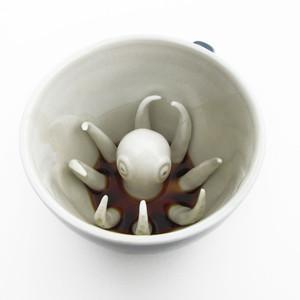 [Fab.de] Creepy Cups: Tassen mit monströsem Inhalt für 4,95€ (schöner Gag ;)