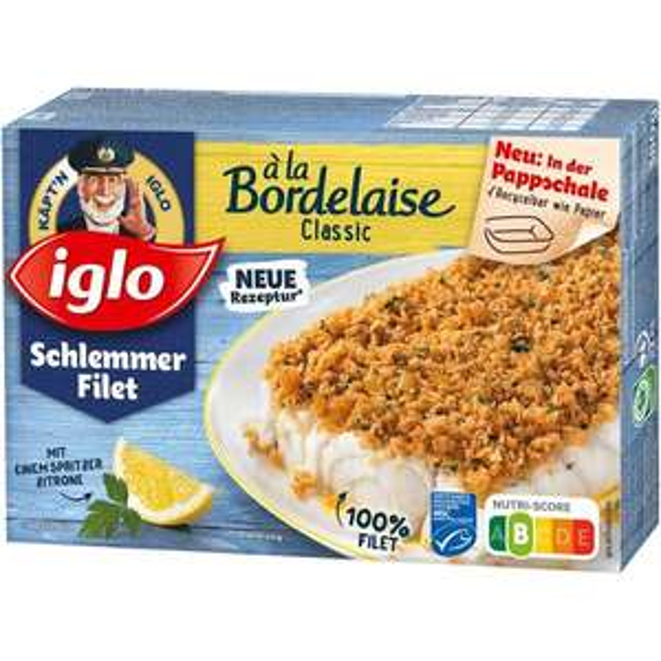 Edeka Süd West : IGLO Schlemmer Filet