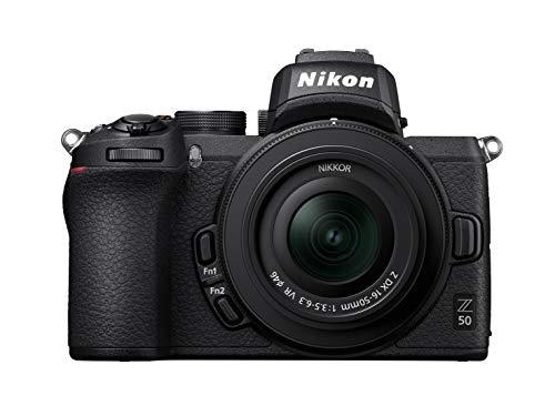Nikon Z50 Systemkamera + DX 16-50mm F3.5-6.3 VR Objektiv Kit