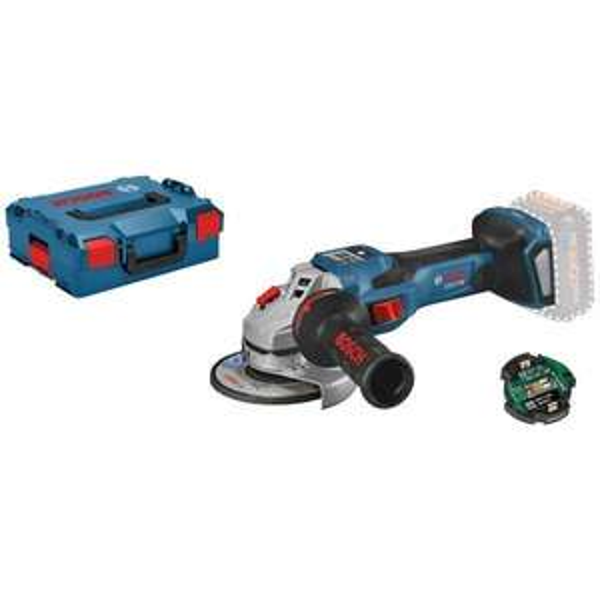 Bosch Professional Akku-Winkelschleifer BITURBO GWS 18V-15 SC 150 mm Solo in L-Boxx (+ 5,5Ah ProCore Aktion)