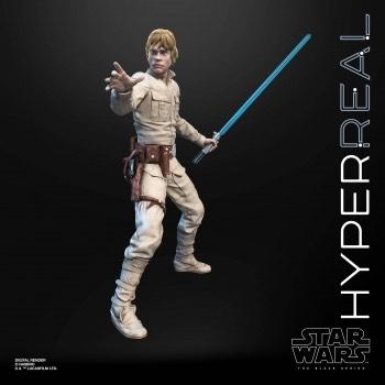 Hasbro Star Wars The Black Series Hyperreal Luke Skywalker 8 Inch Action Figure