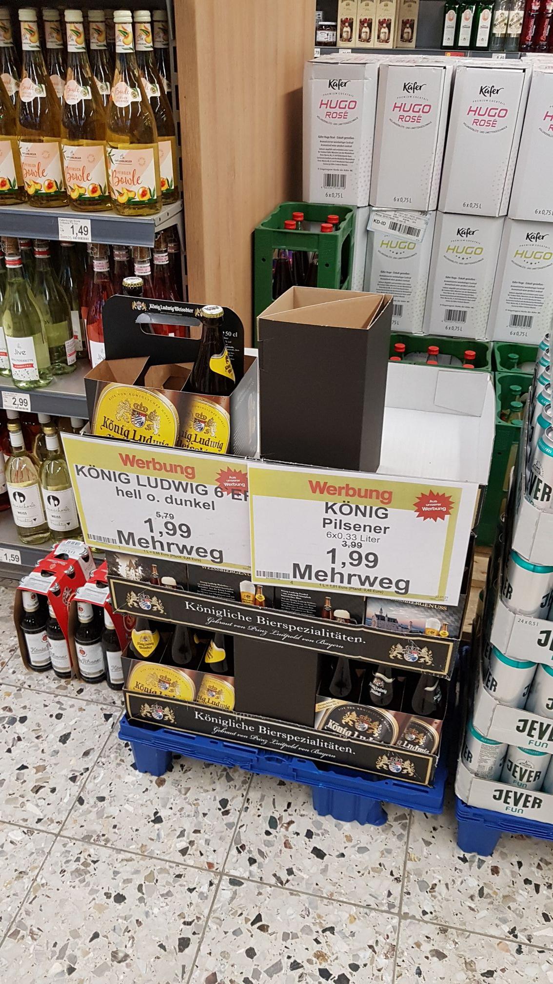 [Lokal Oldenburg] König Ludwig hell/dunkel Famila Wechloy