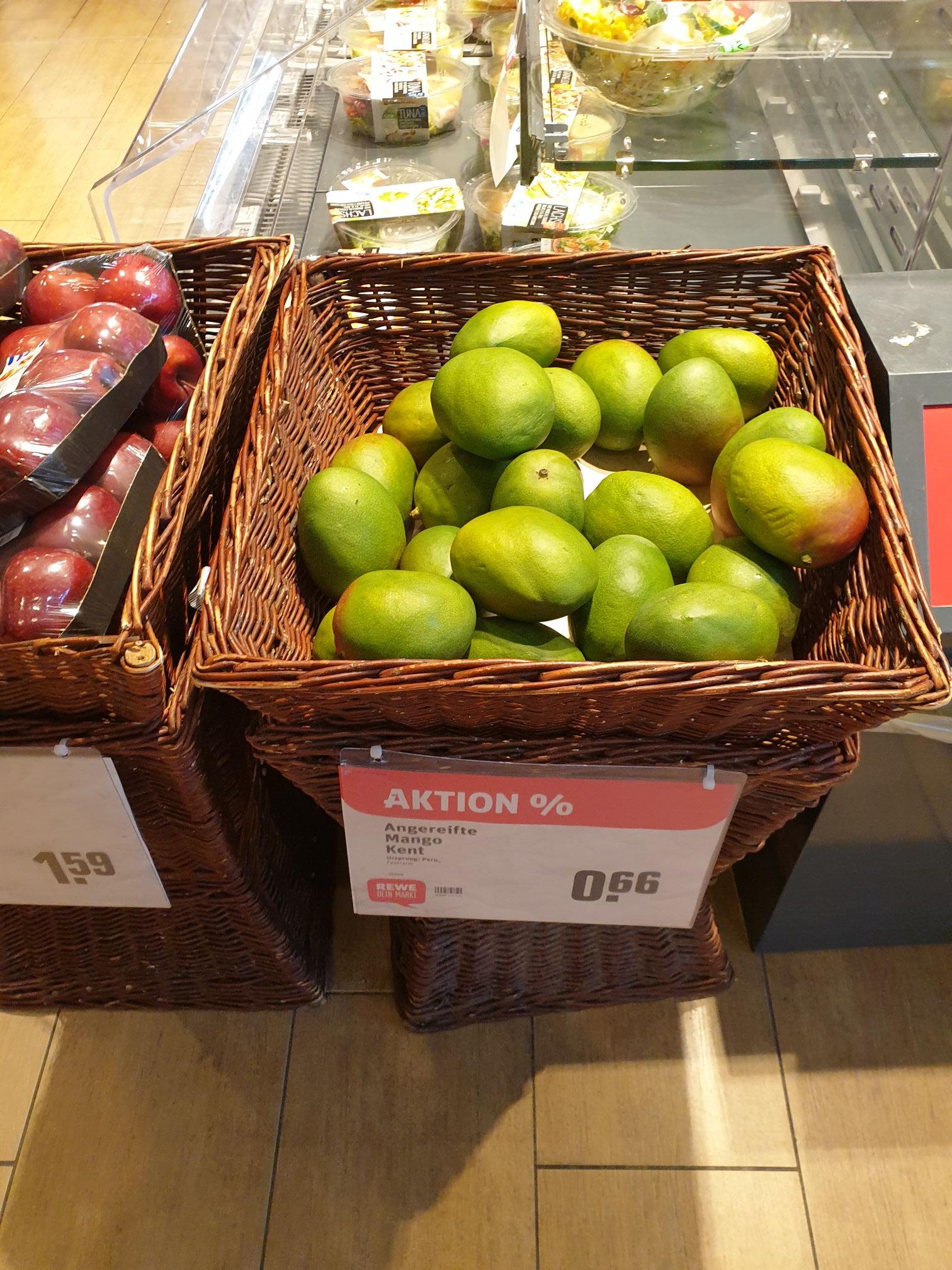 Mangos bei Rewe, 0,66€ [Bundesweit]