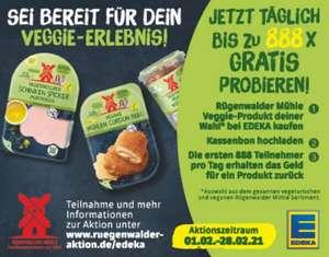 [GzG] Rügenwalder Mühle Veggie-Produkt kostenlos testen (100% Cashback) vom 01.02. bis 28.02.2021 (bis zu 888x täglich)
