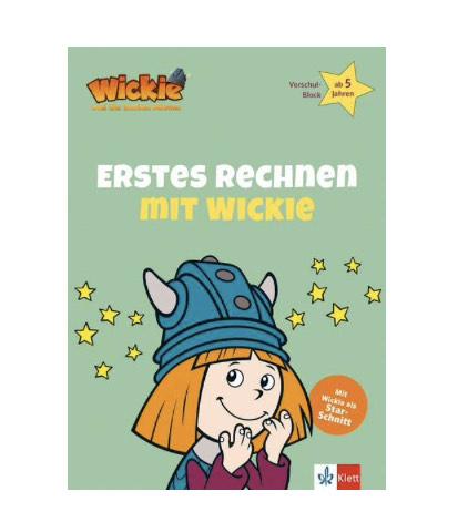 Lernen mit Wickie: Erstes Rechnen mit Wickie - Vorschul-Block ab 5 Jahren