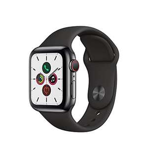 Apple Watch 5 GPS + Cellular 40mm Space Grey Edelstahlgehäuse (Amazon.it via ColisExpat)