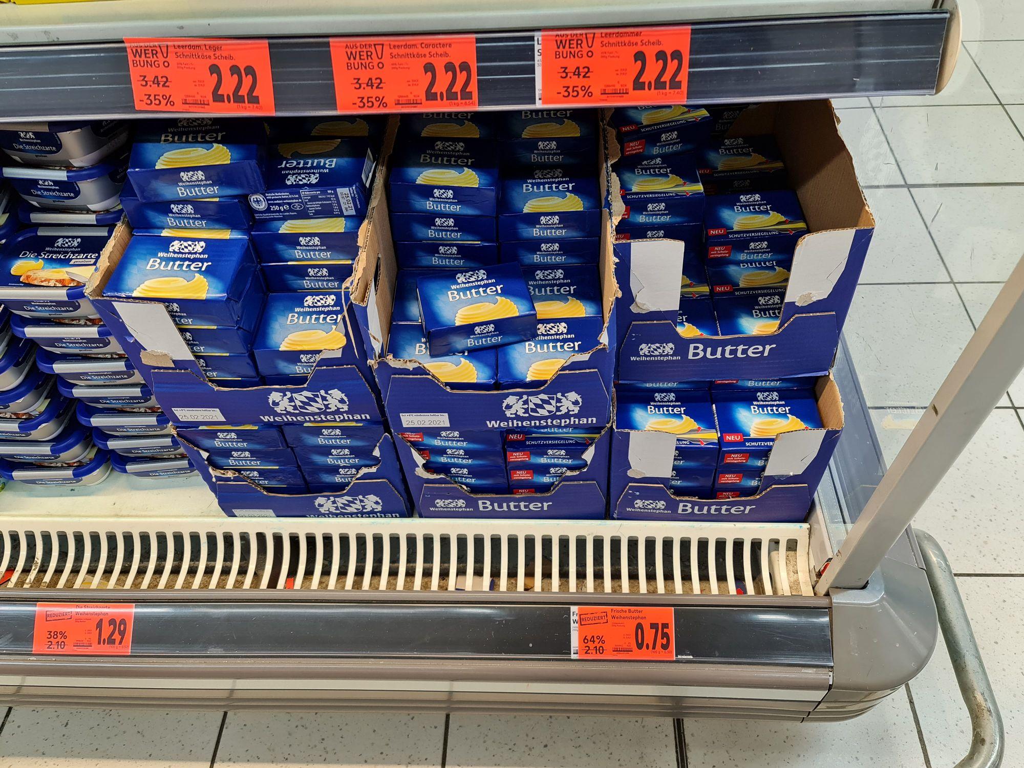 Weihenstephan Butter 250 g Kaufland Emmendingen lokal?