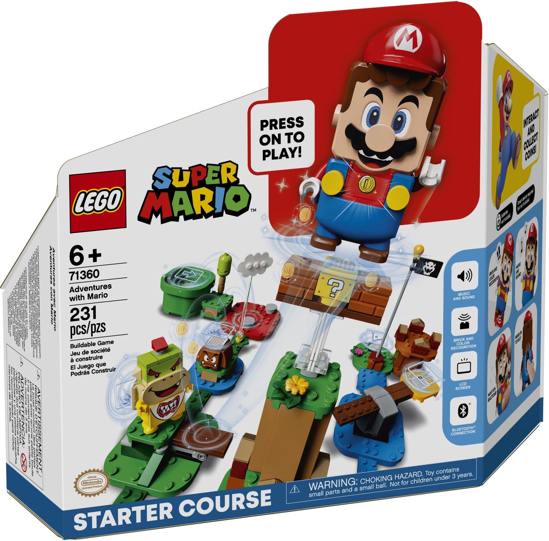 LEGO 71360 Super Mario - Abenteuer mit Mario Starterset für 39,89€ inkl. Versandkosten