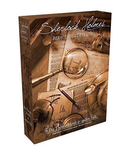 Gesellschaftsspiel Sherlock Holmes Beratender Detektiv: Die Themse-Morde & andere Fälle