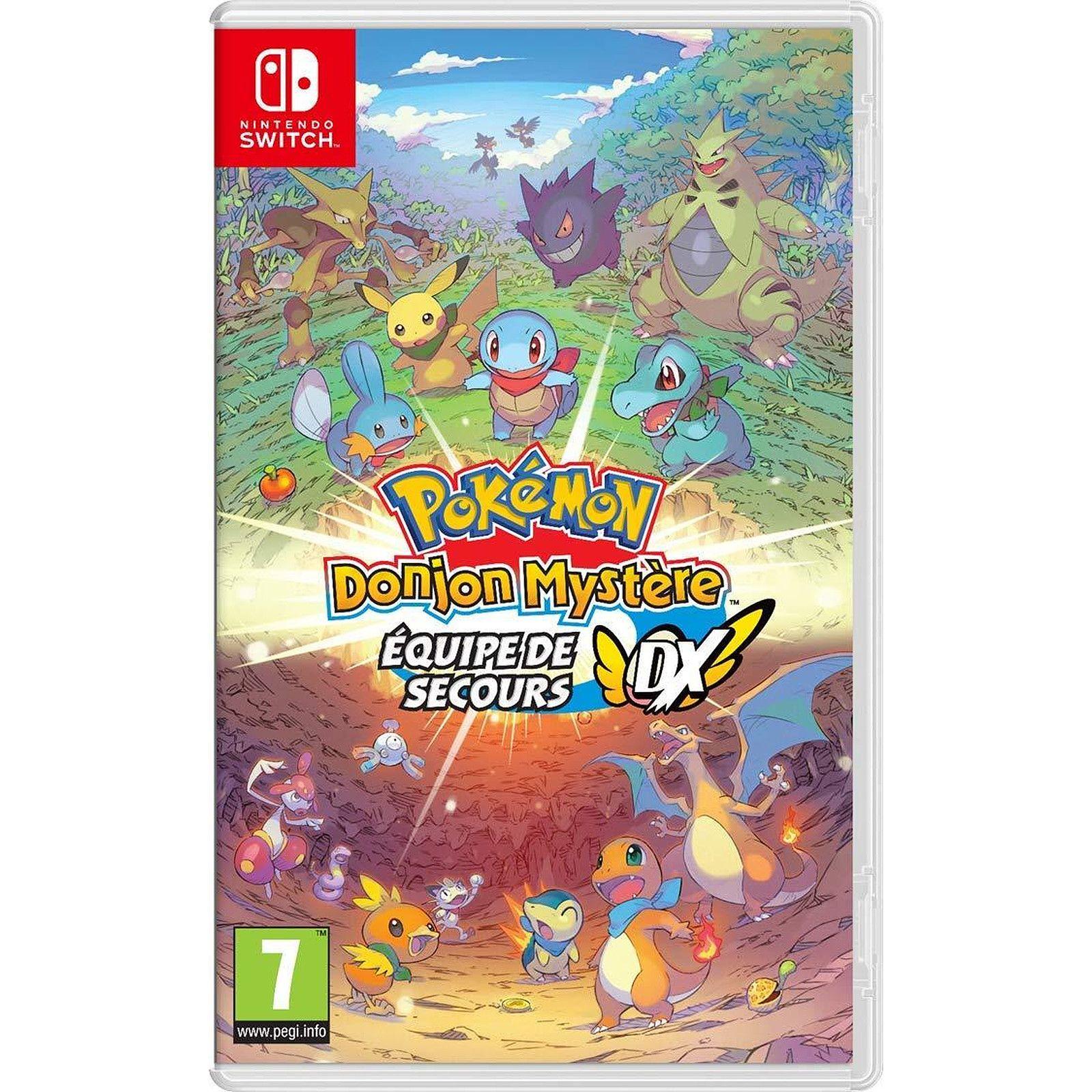 Pokemon Mistery Dungeon: Retterteam DX (Nintendo Switch, PEGI, FR Import)