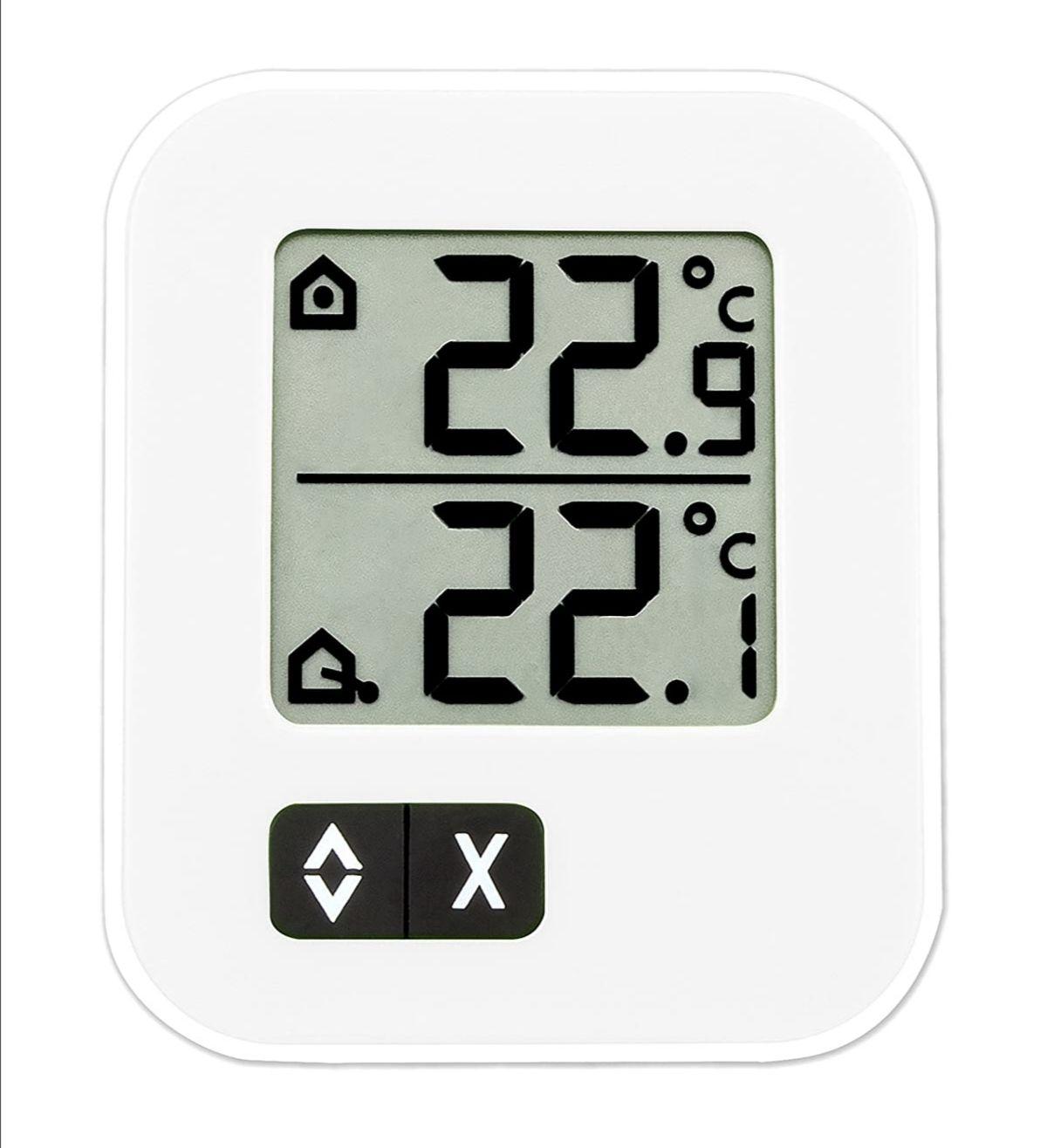 TFA Dostmann Digitales Max-Min-Thermometer, zwei Temperaturen messbar. (PRIME)