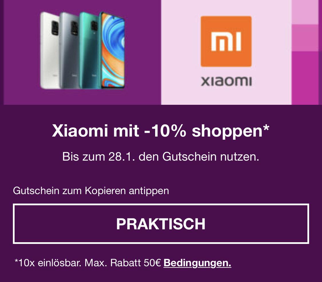 -10% auf Xiaomi bei eBay