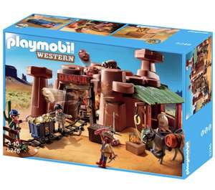 PLAYMOBIL® Western Goldmine mit Sprengkiste (5246)