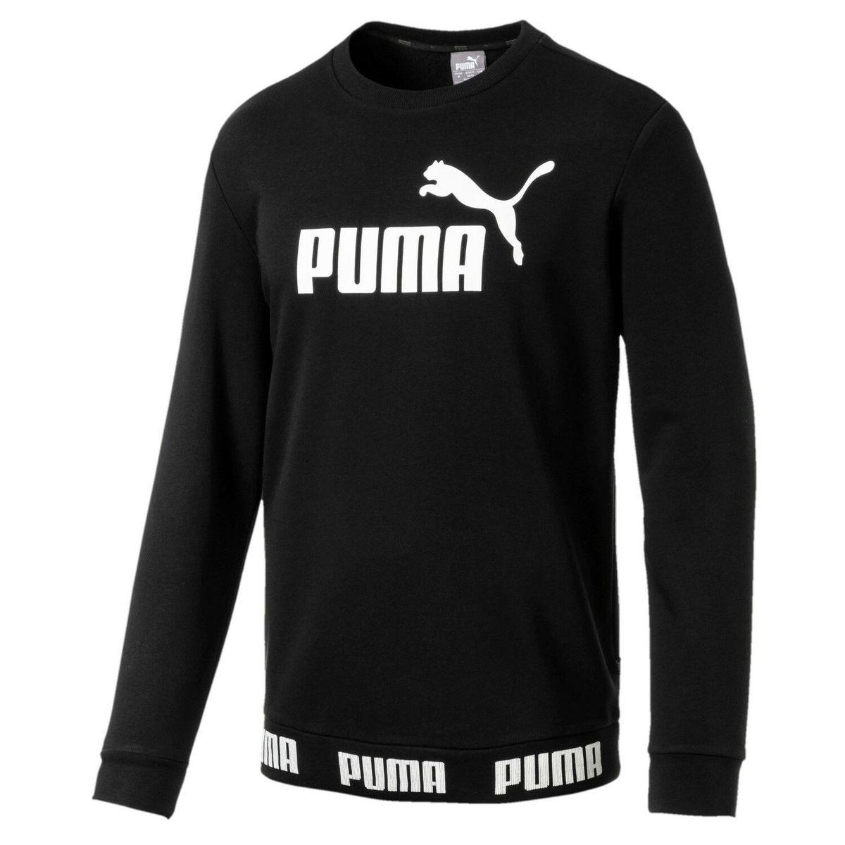 Puma Herren Sweatshirt schwarz (S-XXL) für 33,90 Euro