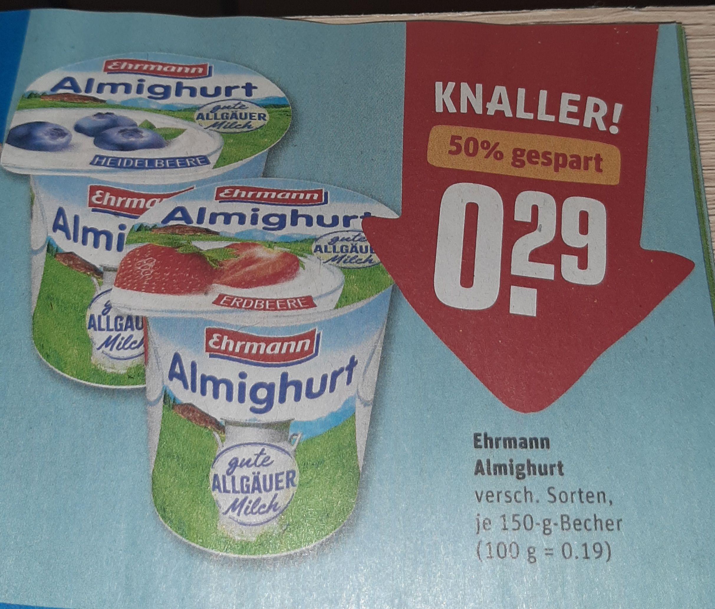 Ehrmann Almighurt nur 0.29€
