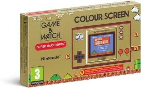 [Expert Nördlingen] Nintendo Game & Watch: Super Mario Bros. Spielkonsole (Abholung möglich: 37,99 €)