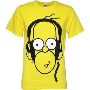 Preisfehler? Simpsons Headphone Homer Men's T-Shirt