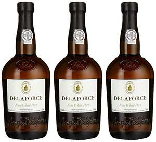 [prime] 3x Portwein Delaforce Fine White Port (20%, jeweils 750 ml)