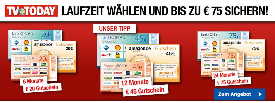 TV Today - 12 Monate Abo inkl. 45€ Gutschein (optional 6 oder 24 Monate)