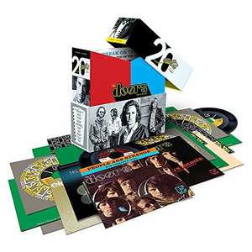 "The Doors The Singles (20 x 7"" Vinyl Singles Box-Set) [Vinyl LP] wieder Verfügbar lieferbar ab 01.02.2021"