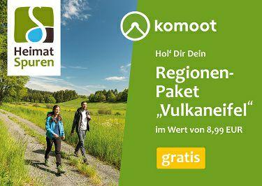 "Komoot Kostenloses Regionenpaket ""Vulkaneifel"" (Update: frei wählbare Region)"