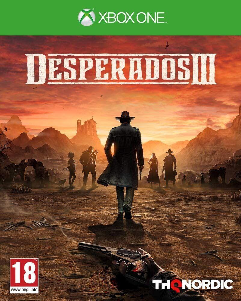Desperados 3 (Xbox One + PS4, PEGI, Metascore 85)