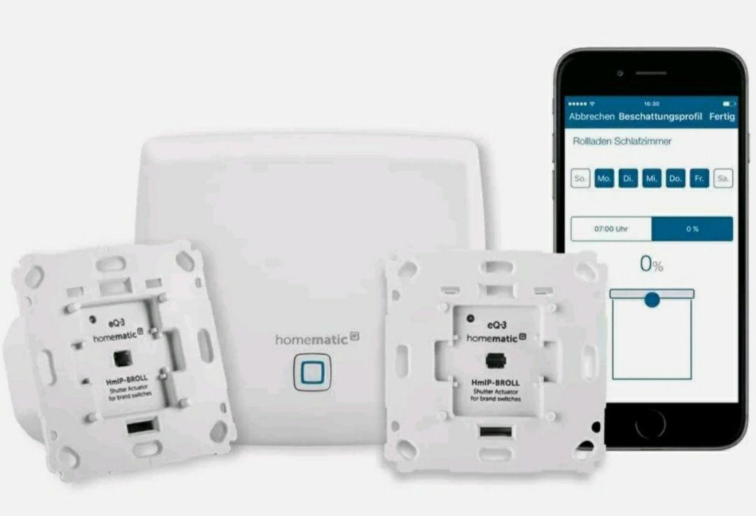 HomeMatic IP 151670A0, Smart Home Starter mit Access Point und 2 Rollladenaktoren aber in geöffneter Verpackung!