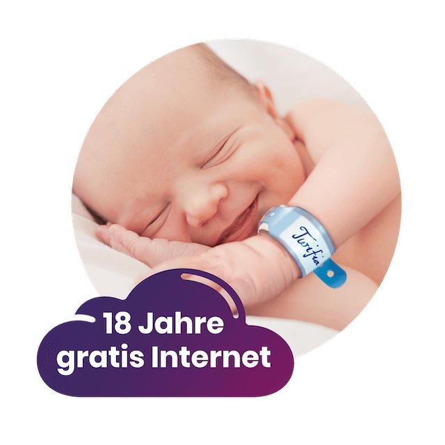 18 Jahre lang Internet + Wifi Router kostenlos (Lokal Schweiz)