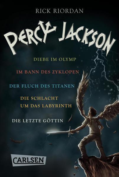 [eBook, Kindle] Percy Jackson: Band 1-5
