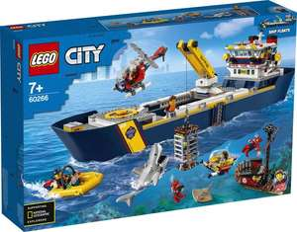 LEGO City 60266 - Meeresforschungsschiff