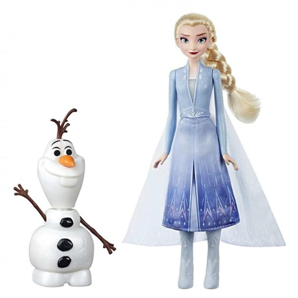 [real.de] Frozen Disney Die Eiskönigin II Elsa und Olaf, Magischer Spielspaß durch 20+ Sounds und Sätze