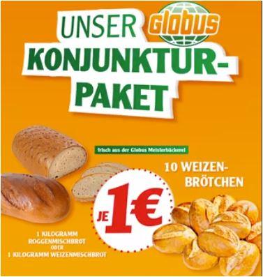 Fleischkäse- oder Bratwurst-Semmel für jeweils 1 Euro [Globus Warenhaus]