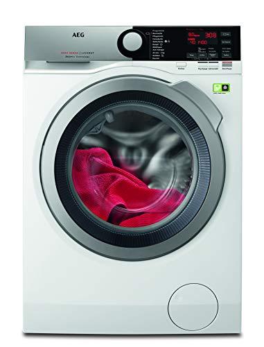 AEG L8FE74485 Waschmaschine / ProSteam - Auffrischfunktion / 8,0 kg / Leise / Nachlegefunktion / Schontrommel / Allergikerfreundlich