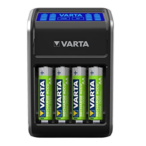 VARTA LCD Plug Ladegerät für Akku Batterien (Prime)