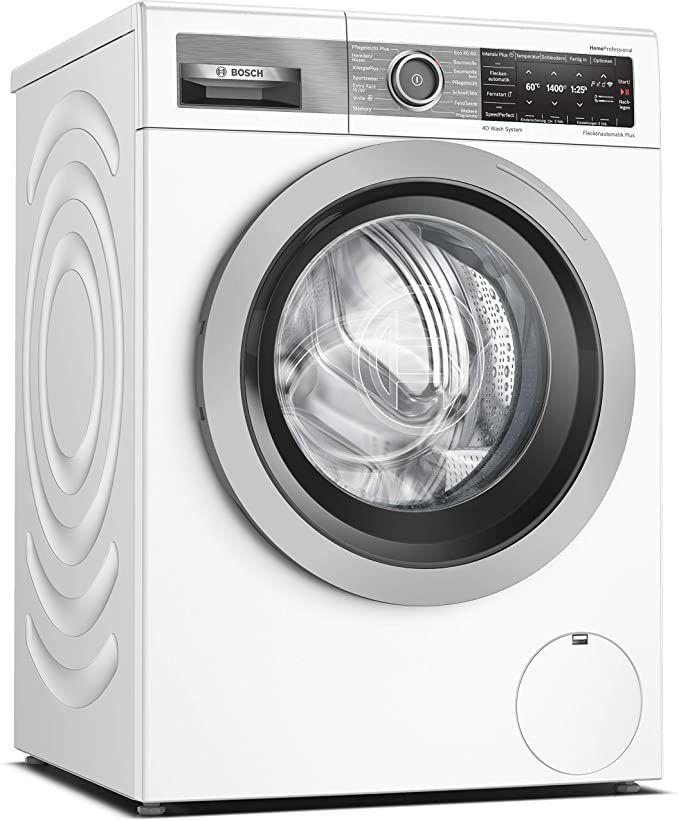 Bosch WAV28G40 HomeProfessional Waschmaschine Frontlader / A+++ / 152 kWh/Jahr / 1400 UpM / 9 kg / Weiß / 4D Wash System
