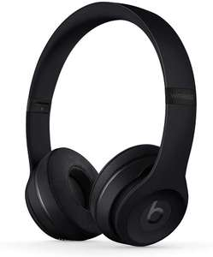 Beats Solo3 Wireless Bluetooth On-Ear Kopfhörer (Apple W1 Chip, dynamisch, geschlossen, NFC, 40h Akku, Mikrofon) Schwarz