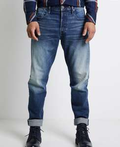 G-Star Herren Jeans (SCUTAR 3D SLIM TAPERED - Jeans Tapered Fit)