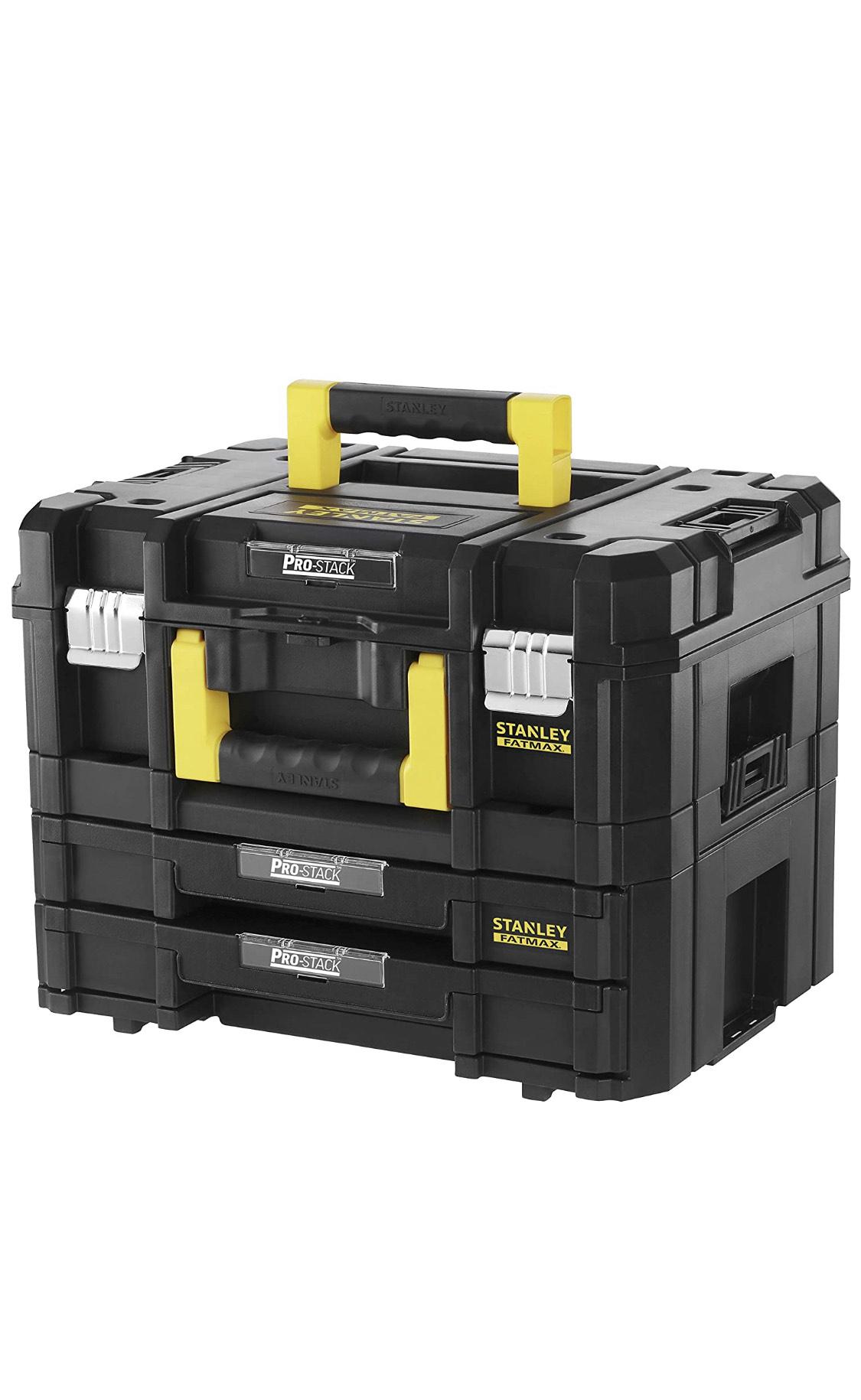 [Prime Amazon] Stanley FatMax Pro-Stack Werkzeugkoffer Combo / [Mano Mano] für 63,77€ zzgl.versand 11,90€