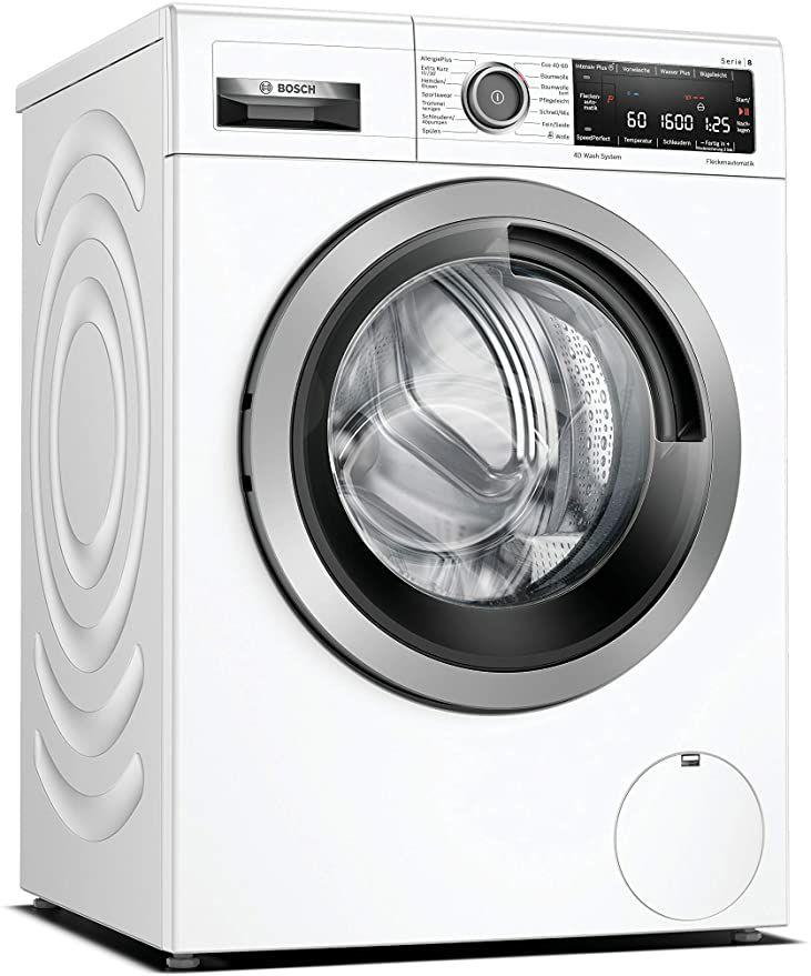 .Bosch WAX32M10 Serie 8 Waschmaschine Frontlader / A+++ / 167 kWh/Jahr / 1600 UpM / 10 kg