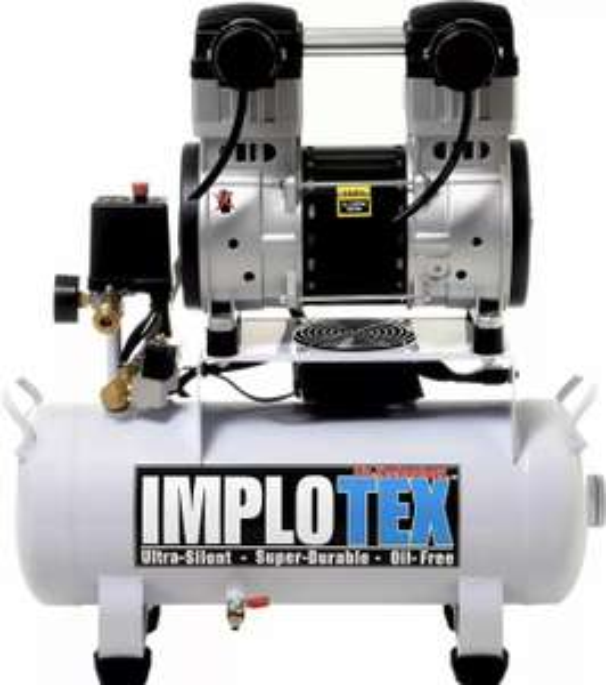 Implotex Flüsterkompressor 1500W, 18L